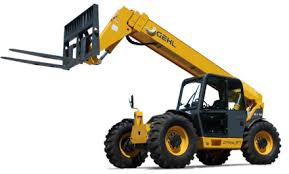 Industrial telescopic handler truck training