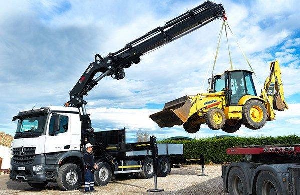 Vehicle mounted hydraulic loader training