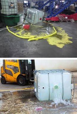 Emergency spills training